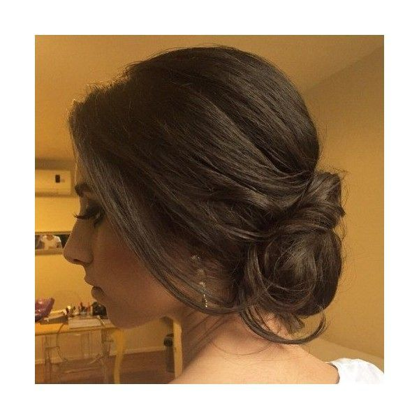 60 Updos for Thin Hair That Score Maximum Style Point ❤ liked on Polyvore feat...