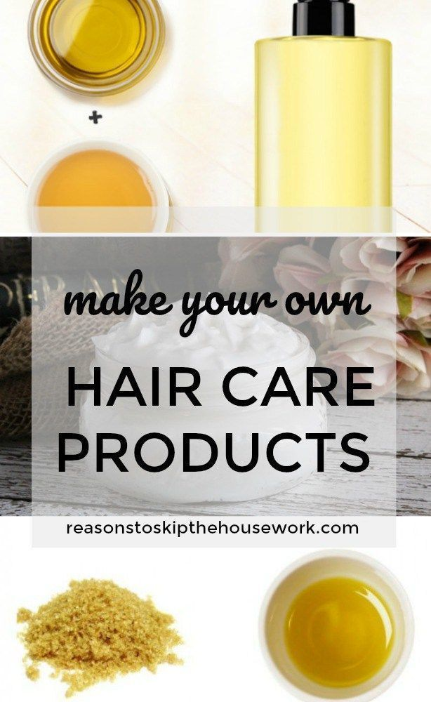 DIY Hair Care Products - keep your hair healthy and shiny without the chemicals ...