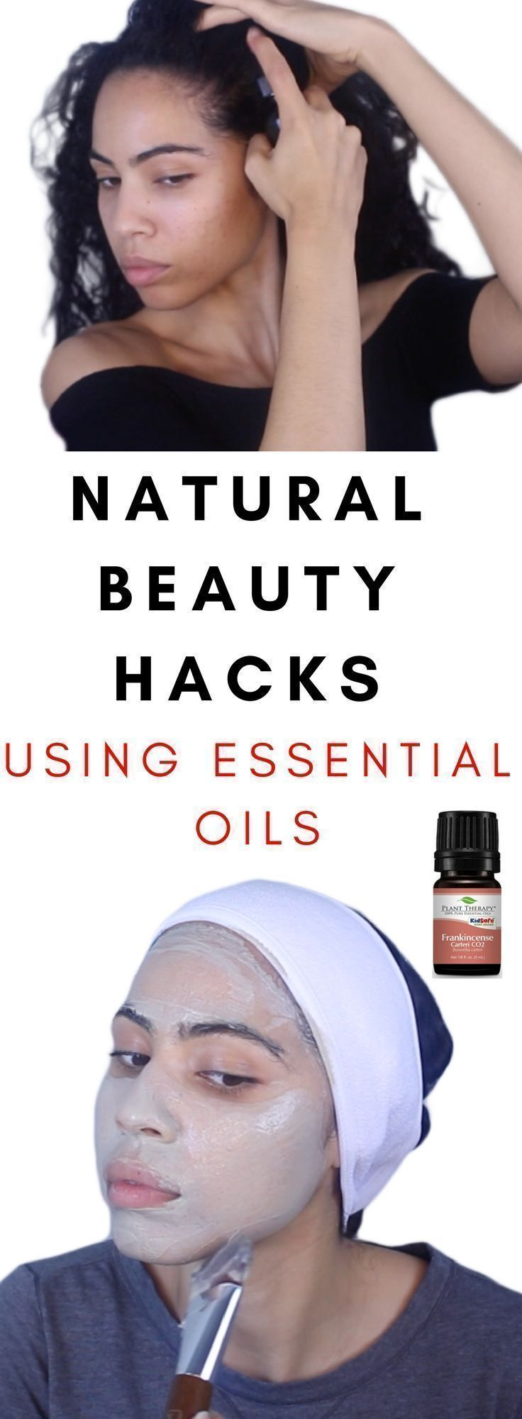 DIY/at home beauty hacks using essential oils for acne, scars, hyperpigmentation...
