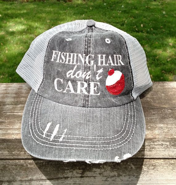 Kristine Gift - Fishing Hair Don't Care with Glitter Bobber by lana5753 on Etsy ...