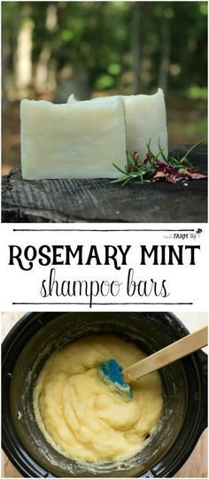 Here is a great DIY homemade recipe for Rosemary mint shampoo bars.