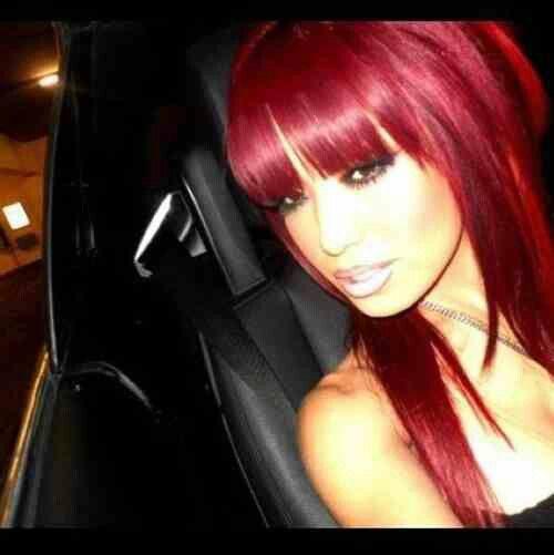 Pretty bright red