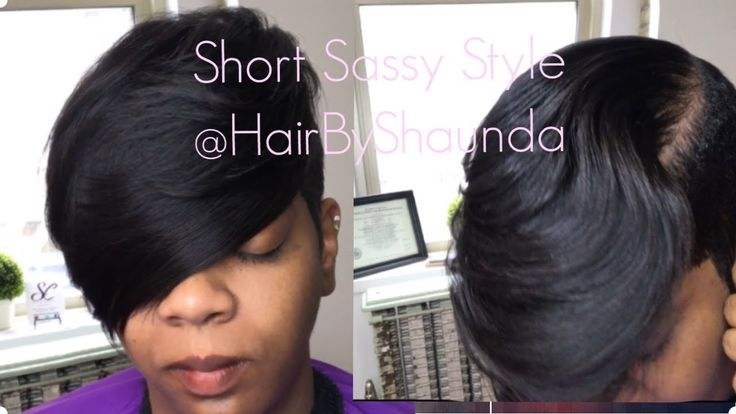 Simple Short Hairstyle [Video] - blackhairinformat...
