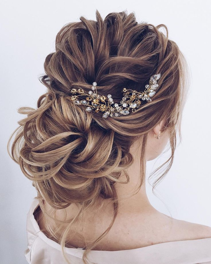 Elstile long wedding hairstyles and updos on deerpearlflowers.com #weddings #hai...