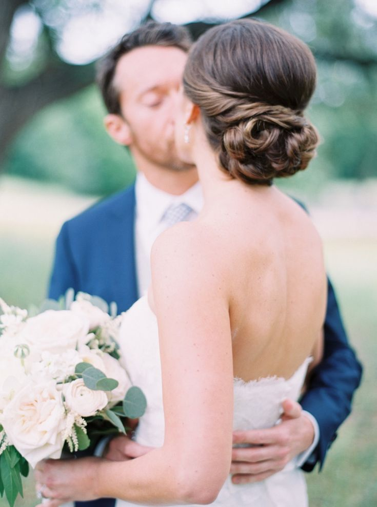 Featured Photographer: Jenna McElroy Photography; wedding hairstyle ideas