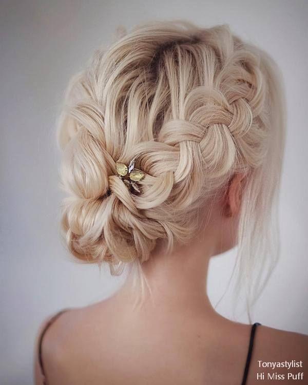 Tonya Pushkareva Long Wedding Hairstyles and Updos | | Hi Miss Puff - Part 3 #we...