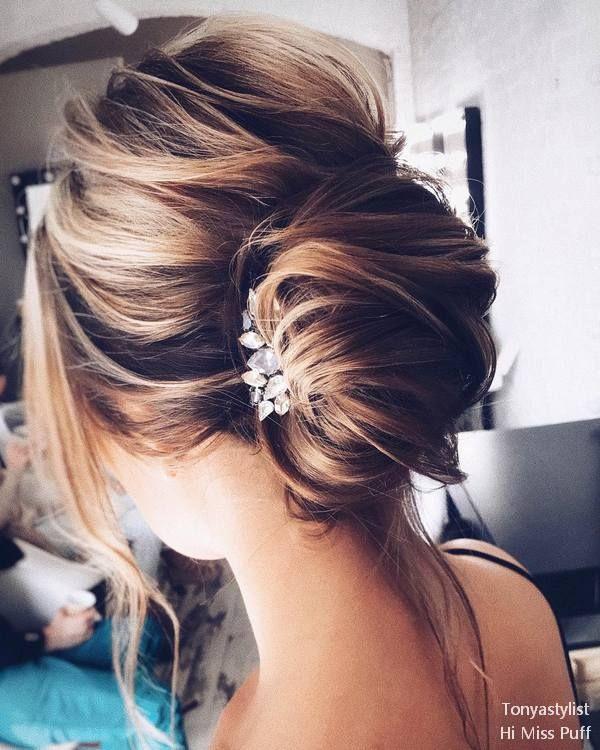 Tonya Pushkareva Long Wedding Hairstyles and Updos | | Hi Miss Puff - Part 4 #we...