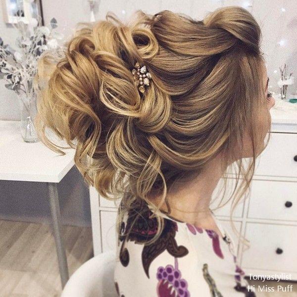 Tonya Pushkareva Long Wedding Hairstyles and Updos | | Hi Miss Puff - Part 7 #we...