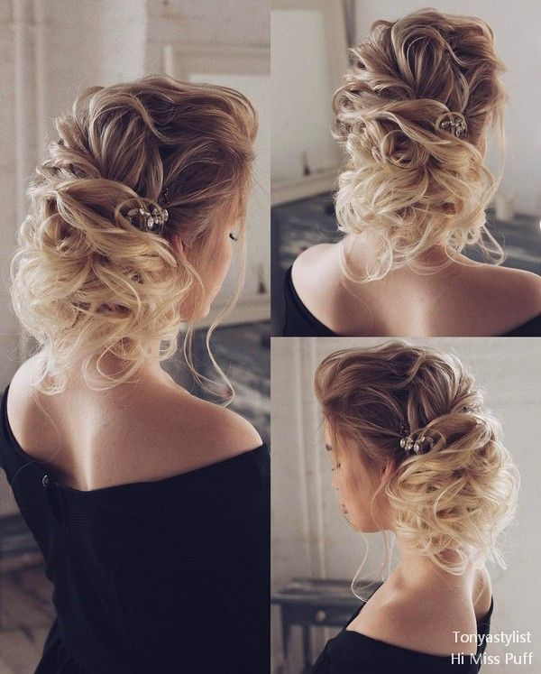 Tonya Pushkareva Long Wedding Hairstyles and Updos | | Hi Miss Puff - Part 6 #we...
