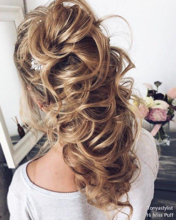 Tonya Pushkareva Long Wedding Hairstyles and Updos     Hi Miss Puff - Part 5 #we...