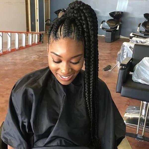 Cornrows Hairstyles: Goddess Braids 2018