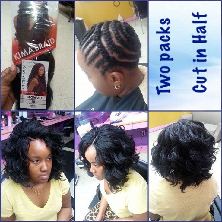 American And African Hair Braiding Crochet Braids With Kima