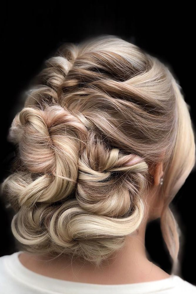 42 Wedding Hairstyles - Romantic Bridal Updos ❤ romantic bridal updos wedding ...