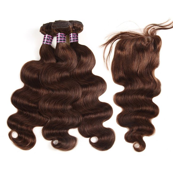 Ishow 8A Body Wave Virgin Hair 3 Bundles With Closure 100% Unprocessed Human Hai...