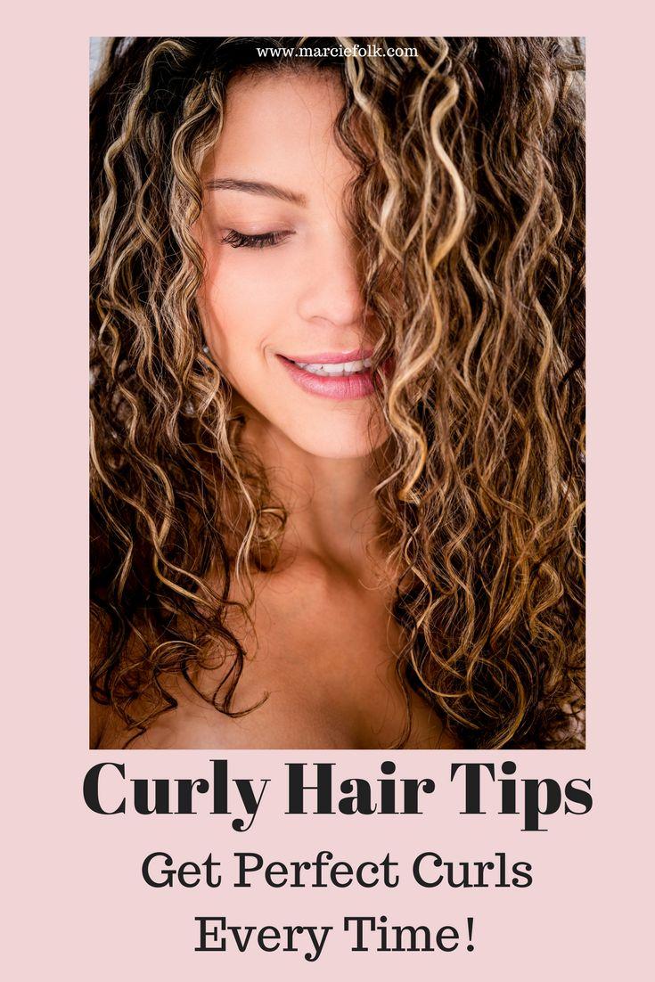 Curly Hair. Easy curly hair tips. Hair care. Healthy hair. Curls. Curly hair pro...