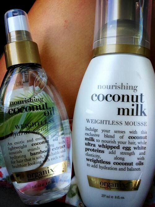 Curly hair care products #haircare