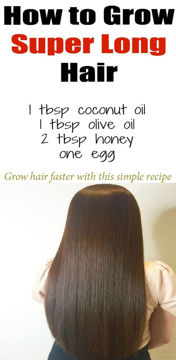Grow hair faster with this simple recipe. This homemade hair mask can work wonde...