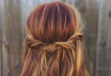 Trendy Hair Color Highlights Deep Burgundy Ombre Short Hair