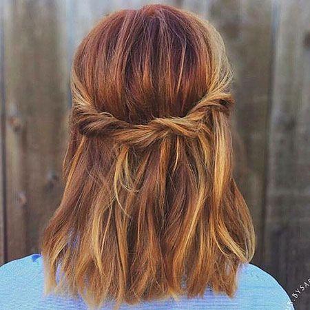 Hairstyle Tresses 18 Easy Braids Fur Kurzes Haar Kurze