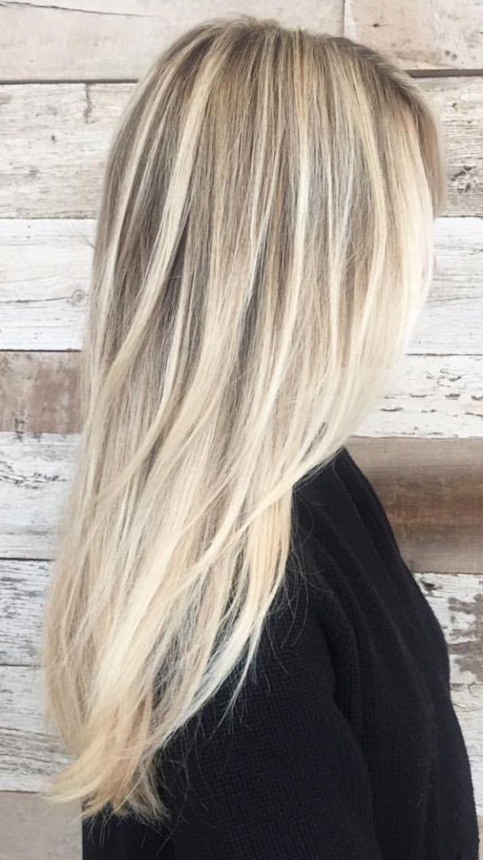 Idées et Tendances coloration cheveux blonds 2017  Image   Description  Image r...