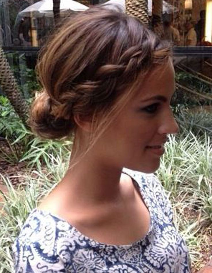 Hairstyle Tresses Makeup Hair Ideas Coiffure Facile Pour