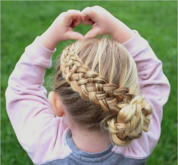 Hairstyle Tresses Coiffure Petite Fille Tresse Avec Chignon Pour Cheveux Longs Blonds Hairstyles Beauty Haircut Home Of Hairstyle Ideas Inspiration Hair Colours Haircuts Trends