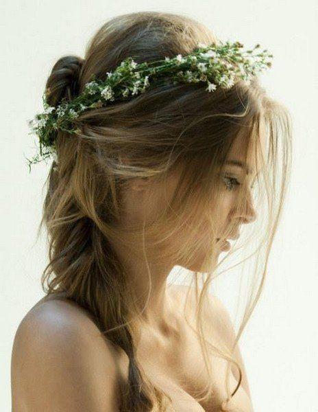 Hairstyle Tresses Mariage Bucolique Boheme Inspi Coiffure Img Jpg