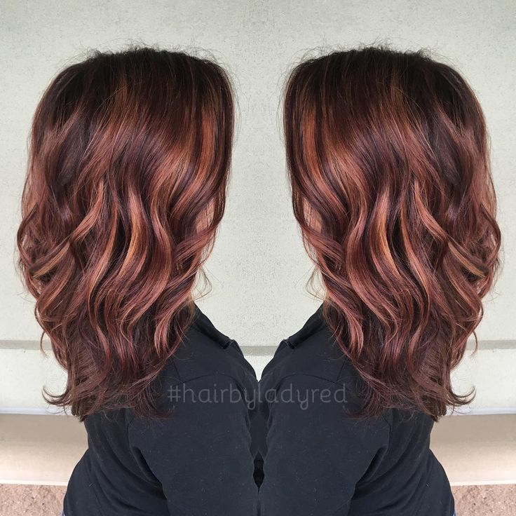 "66 Likes, 4 Comments - Andrea Rutkowski (@hairbyladyred) on Instagram: ""Loving..."