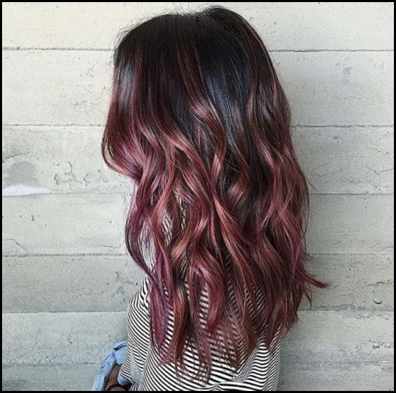 The Hair Color You Must Try If You Love Pink Shades But Hate ... #haarfarben2018...