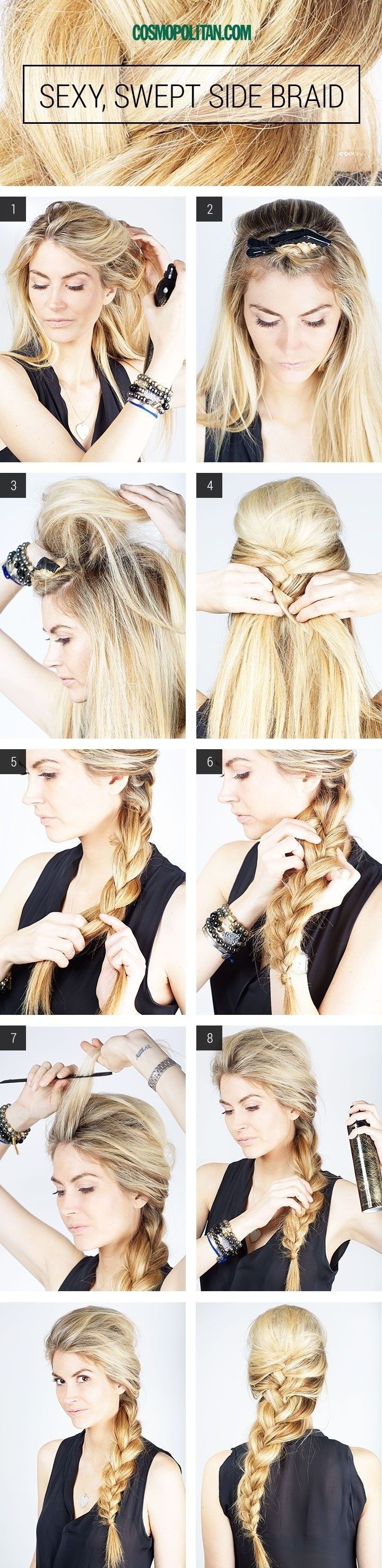12 Amazing French Braid Hairstyles for 2015