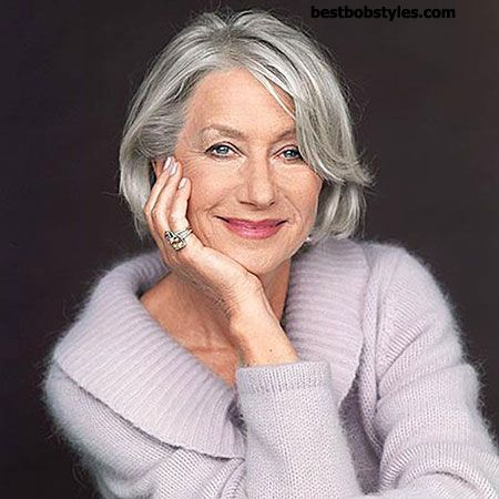 18 Short Bob Haircuts for Older Women - 5 #ShortBob