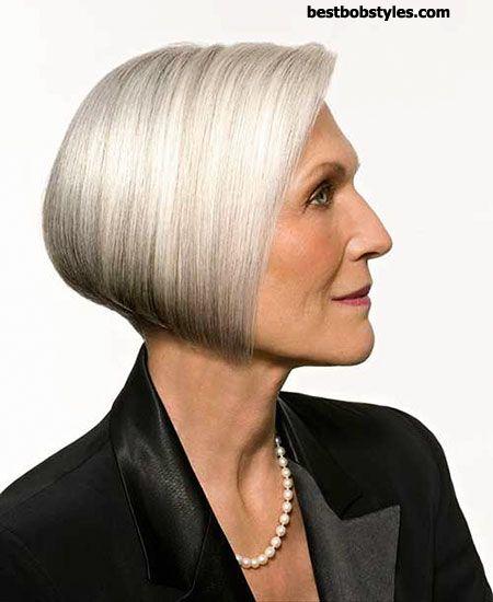 Trendy Haircuts 18 Short Bob Haircuts For Older Women 8
