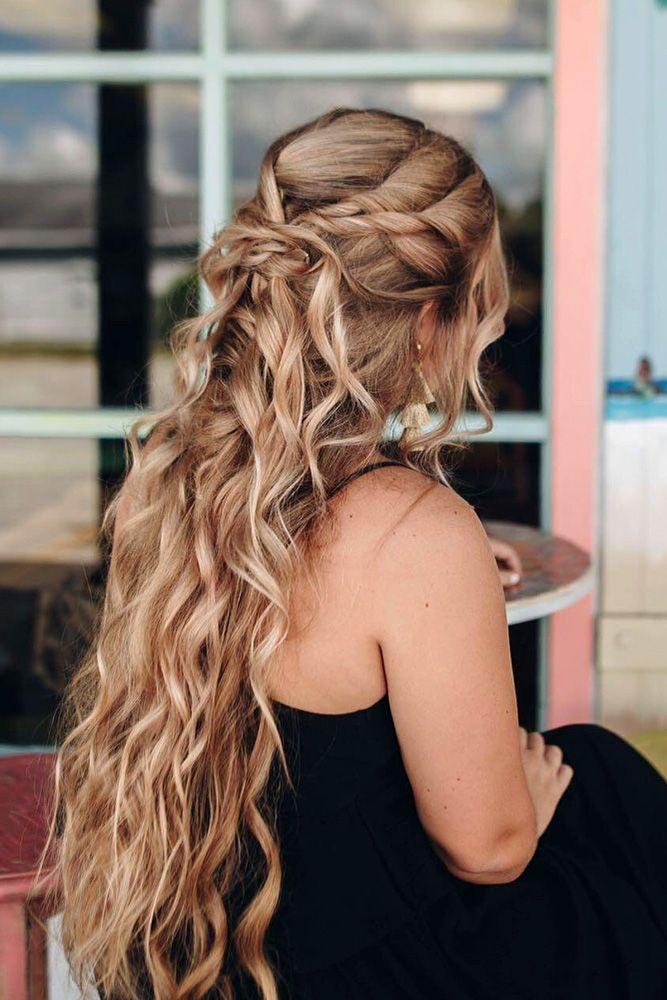 42 Boho Inspired Unique And Creative Wedding Hairstyles ❤ creative unique wedd...