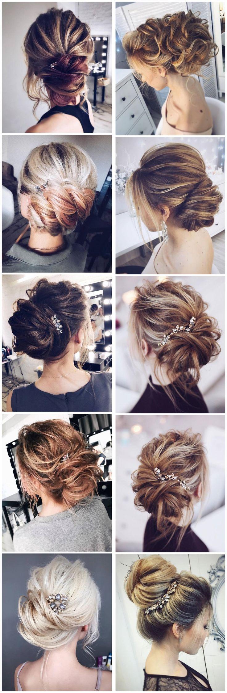 Tonyastylist Wedding Updo Hairstyles for Bride #weddings #updos #wedidngideas #w...