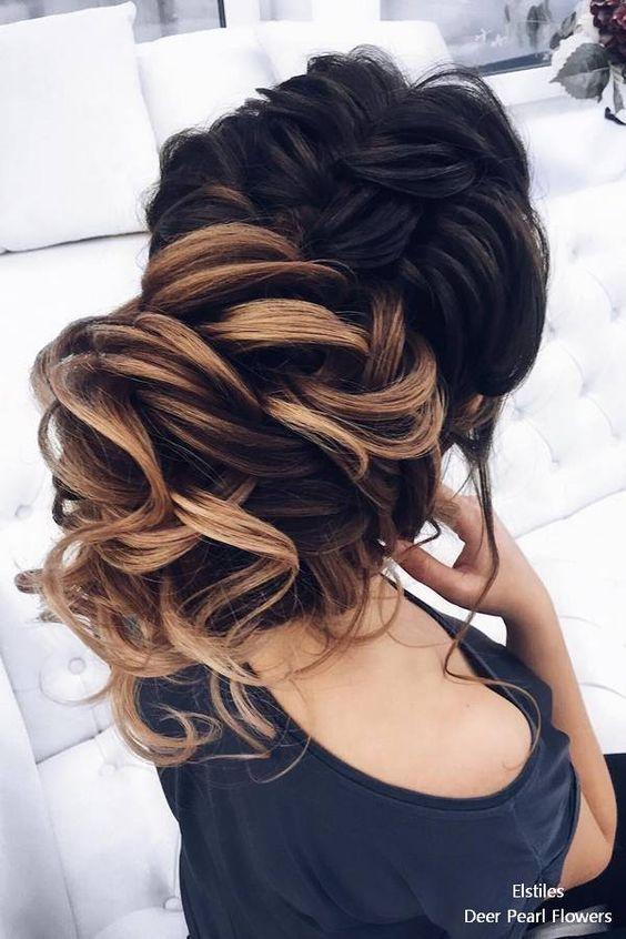 250 Gorgeous Wedding Hairstyles for Long Hair #wedding#weddings#weddingideas...