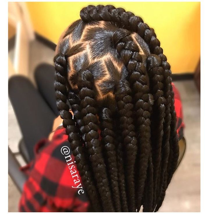 African Hair Braiding Big Box Braids For Women Beauty