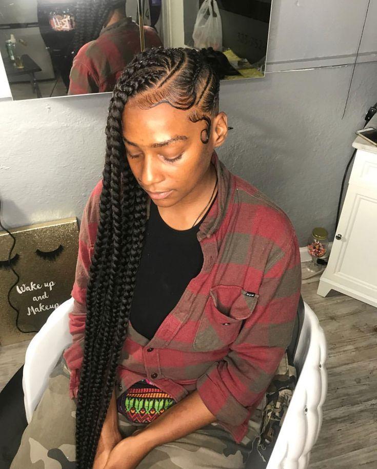 African Hair Braiding Diy Braided Mohawk Plats Braids