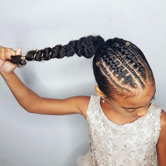 African Hair Braiding  feed in braiding ideas for little