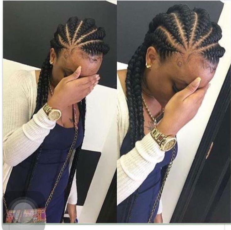 hair braiding feed in braids