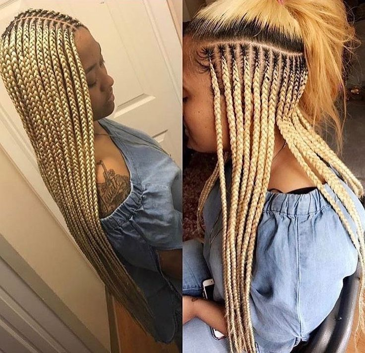 hair braiding hairstyles for black women. Blonde braids