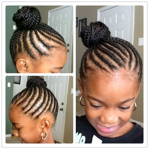 American And African Hair Braiding 40 Braids For Kids 40