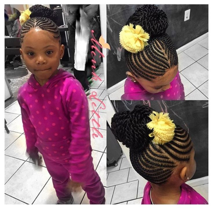 American And African Hair Braiding Kids Styles Beauty