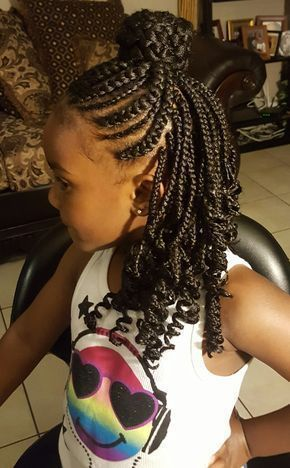 Swell American And African Hair Braiding Single Box Braid In Back With Natural Hairstyles Runnerswayorg