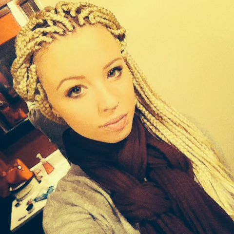 So I got my hair box braided two days ago; I'm in love with it! Here's a...