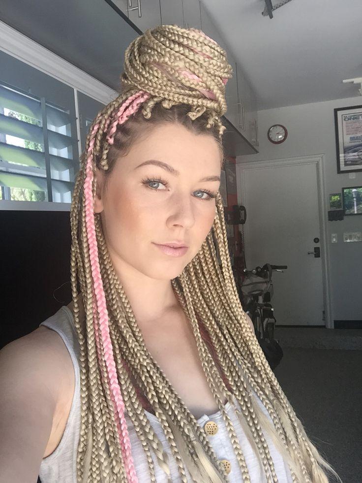 pinterest: @ ankabea ✝ Blonde Braids