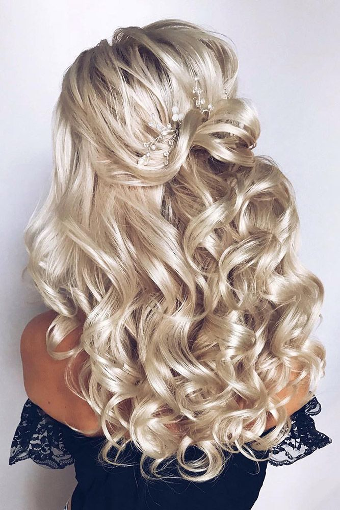 Bridal Hairstyles 33 Oh So Perfect Curly Wedding