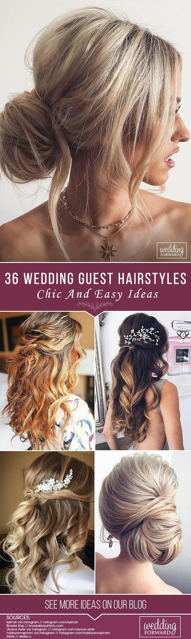 Bridal Hairstyles 36 Chic And Easy Wedding Guest