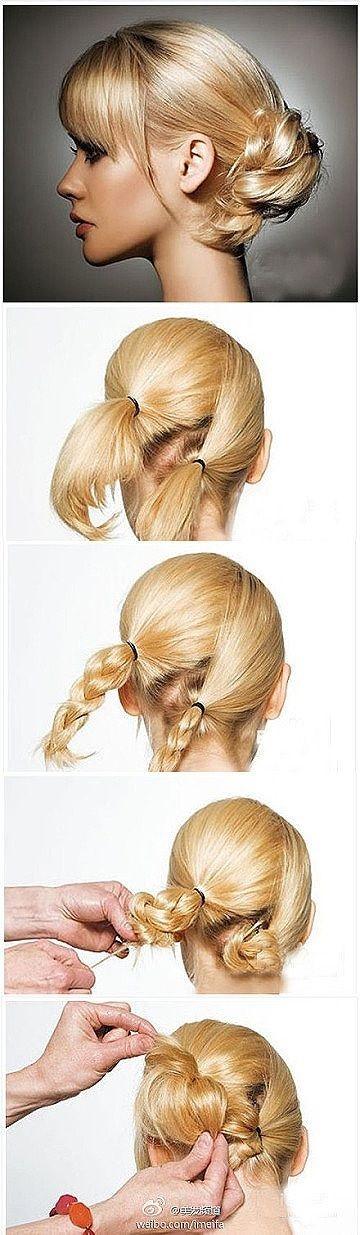 30 Tutoriels Faciles Pour Bien Coiffer Vos Cheveux Mi-longs | Coiffure simple et...