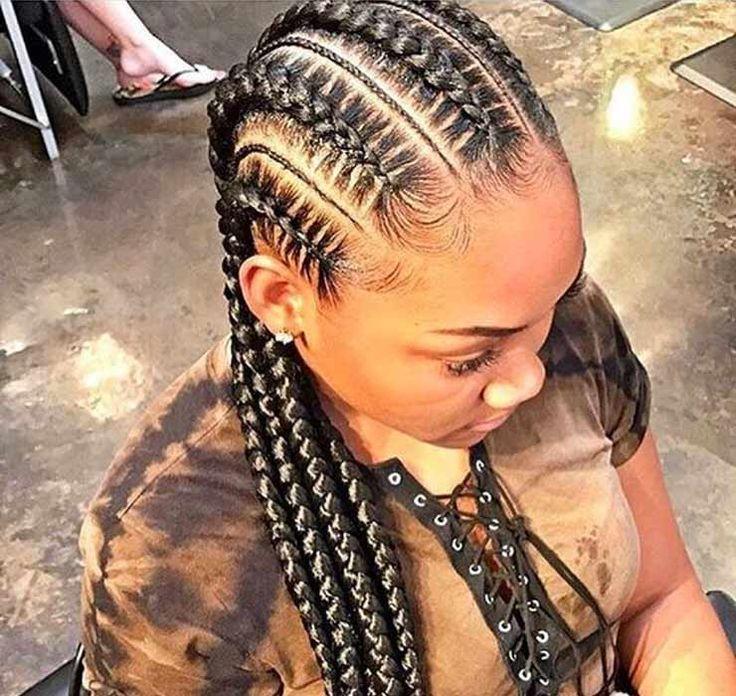 Hairstyle - Tresses : Tendance : 30 Idées pour adopter la tresse africaine pour femme 2019 ...