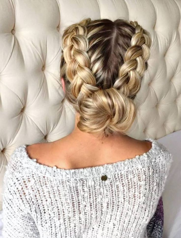 Hairstyle Tresses Coiffure Facile Cheveux Long Nattes Collees Chignon Bas Tendances Femme Beauty Haircut Home Of Hairstyle Ideas Inspiration Hair Colours Haircuts Trends